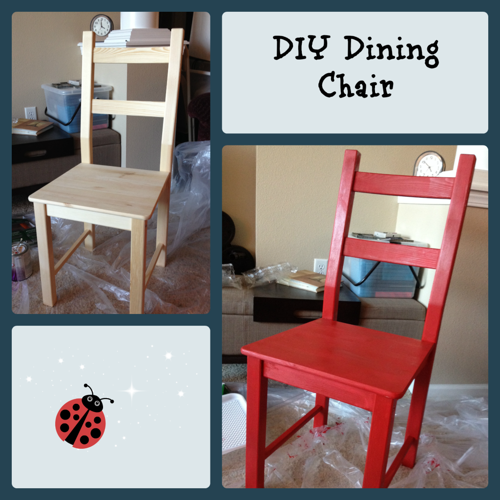 How to paint a chair?