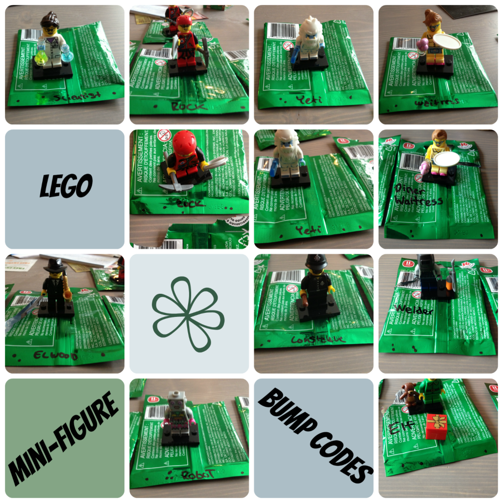 More bumping: Lego Minifigures Series 11